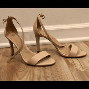 e8cbd7c2785 ... Ankle Bootie Aldo Caraa Nude Strappy Sandal size 6 ...